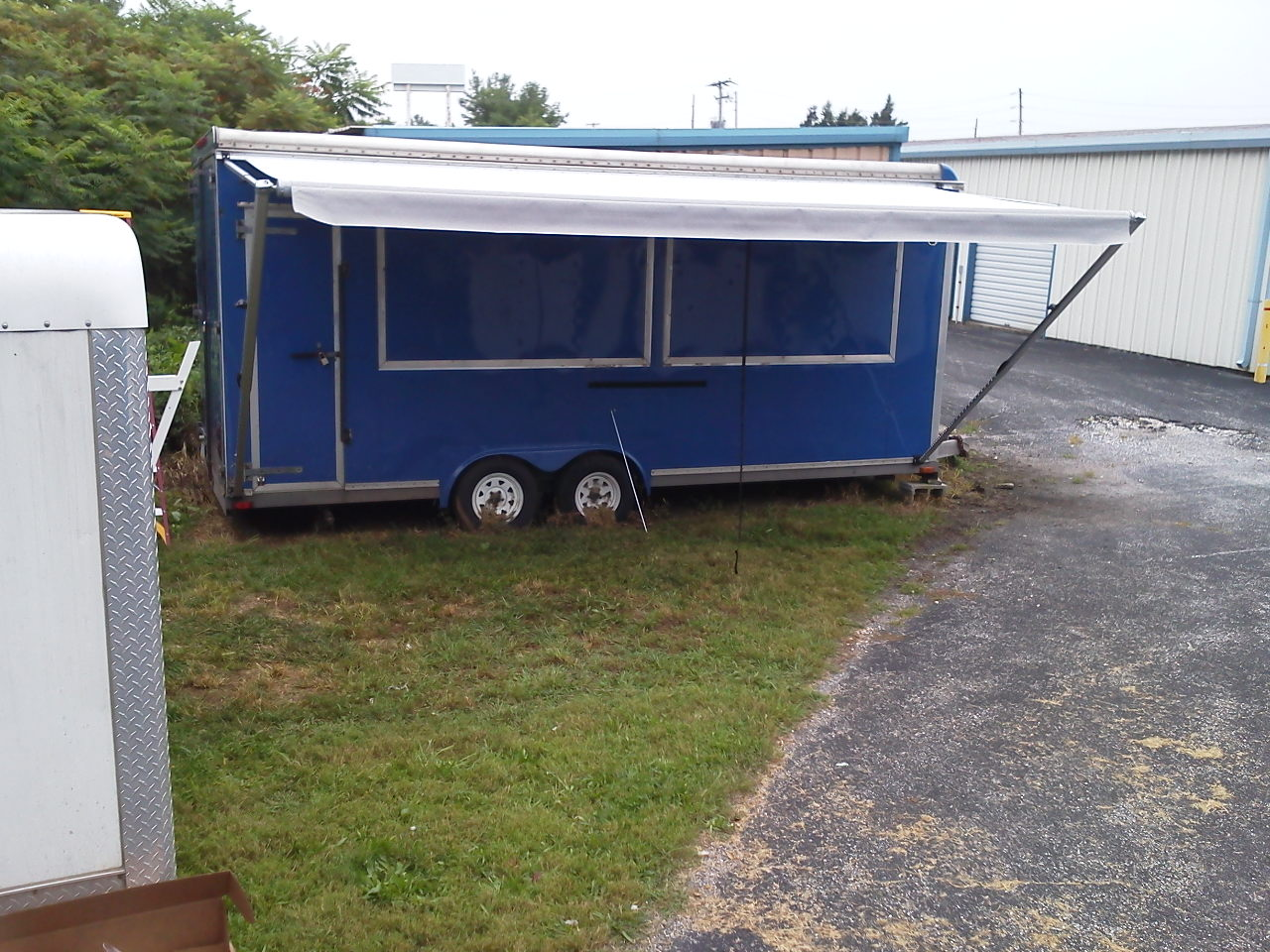We Can Install Custom Patio Awnings On Almost Anything Utility Trailers Horse Firetrucks